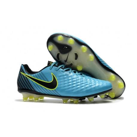 sale retailer 2bfee 72eab Nike Magista Opus II FG Fotbollsskor för Herrar - Blå Svart
