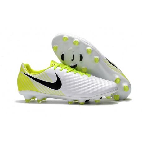 buy popular f8487 793e9 Nike Magista Opus II FG Fotbollsskor för Herrar - Vit Gul Svart