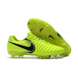 Nike Tiempo Fotbollsskor Legend VII FG - Gul Svart