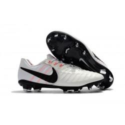 Nike Tiempo Fotbollsskor Legend VII FG - Vit Svart