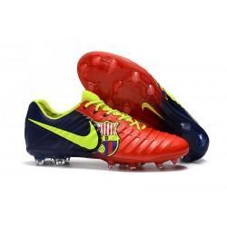 Nike Tiempo Fotbollsskor Legend VII FG - Barcelona Röd