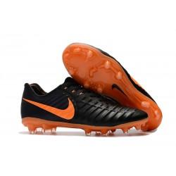 Nike Tiempo Fotbollsskor Legend VII FG - Svart Orange