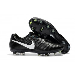 Nike Tiempo Fotbollsskor Legend VII FG - Svart Vit