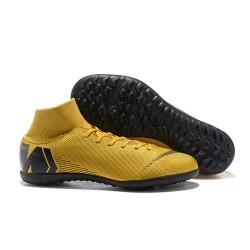 Nike Herrar Mercurial SuperflyX VI Elite TF - Guld Svart