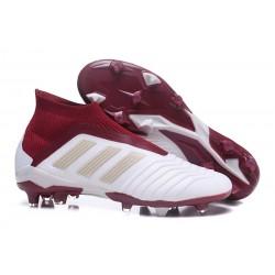 adidas Fotbollsskor för Herrar Predator 18+ FG - Vit Röd