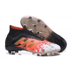 adidas Fotbollsskor för Herrar Predator 18+ Telstar FG - Svart Orange