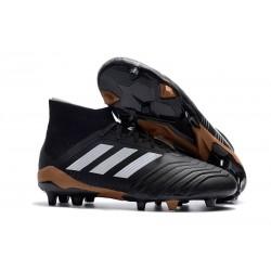 adidas Predator 18.1 FG Fotbollsskor - Svart Vit Guld