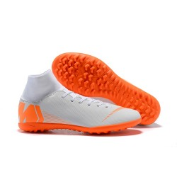 Nike Herrar Mercurial SuperflyX VI Elite TF - Vilt Orange
