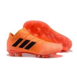 adidas Nemeziz 18.1 FG Fotbollsskor - Orange Svart