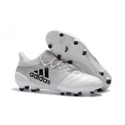 Adidas X 17.1 FG Fotbollsskor - Vit Svart