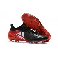 Adidas X 17.1 FG Fotbollsskor - Svart Röd