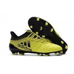 Adidas X 17.1 FG Fotbollsskor - Gul Svart