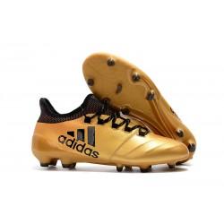 Adidas X 17.1 FG Fotbollsskor - Guld Svart