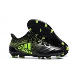 Adidas X 17.1 FG Fotbollsskor - Svart Grön