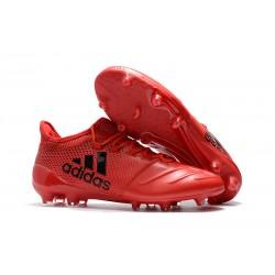 Adidas X 17.1 FG Fotbollsskor - Röd Svart