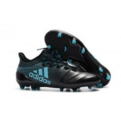 Adidas X 17.1 FG Fotbollsskor - Svart Blå