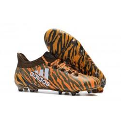 Adidas X 17.1 FG Fotbollsskor - Orange Svart