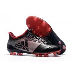 Adidas X 17.1 FG Fotbollsskor - Rosa Svart