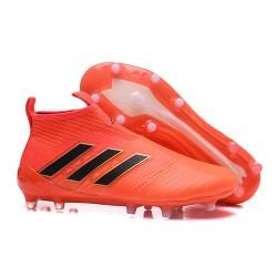 Adidas ACE 17+ PureControl FG Fotbollsskor för Herr - Orange Svart