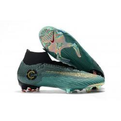 Nike Mercurial Superfly 6 Elite FG Fotbollsskor för Barn - Ronaldo Blå