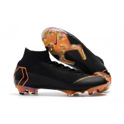Nike Mercurial Superfly 360 Elite FG Dam - Svart Orange