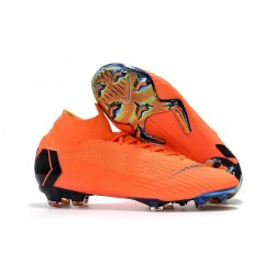 Nike Mercurial Superfly 360 Elite FG Dam - Orange Svart