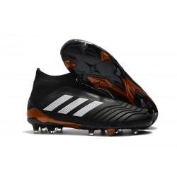 adidas Predator 18+ FG Fotbollsskor för Barn - Svart Vit