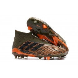 adidas Predator 18+ FG Fotbollsskor för Barn - Grön Orange