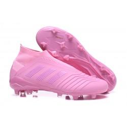 adidas Predator 18+ FG Fotbollsskor för Barn - Rosa