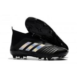 adidas Fotbollsskor för Herrar Predator 18+ FG - Svart Silver