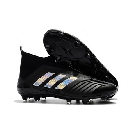 brand new 982dd 465aa adidas Fotbollsskor för Herrar Predator 18+ FG - Svart Silver