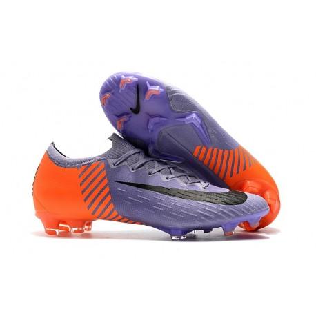 premium selection a7ec5 120c0 Nike Mercurial Vapor XII 360 Elite FG Fotbollssko - Lila Orange Svart