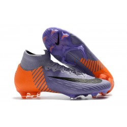 Nike Mercurial Superfly 6 Elite FG 2018 Fotbollssko - Lila Orange