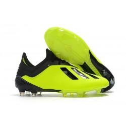 adidas X 18.1 FG Fotbollsskor - Jaune Noir
