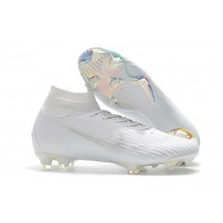 Nike Mercurial Superfly VI 360 Elite DF FG - Vit