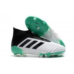 adidas Fotbollsskor för Herrar Predator 18+ FG - Vit Grön Svart