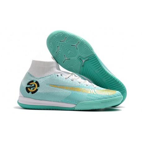 Nike Fotbollsskor Mercurial SuperflyX 6 Elite IC Herr - CR7 Blå Vit 769dcf347f52f