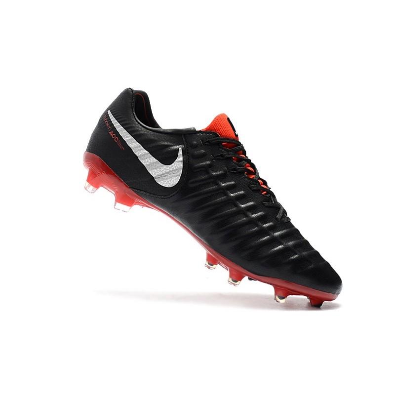 Nike Tiempo Legend 7 Elite FG Fotbollsskor för Herrar - Svart Röd 8aedb516cbafc