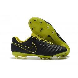 Nike Tiempo Legend 7 Elite FG Fotbollsskor för Herrar - Svart Grön