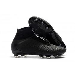 Fotbollsskor Nike Hypervenom Phantom 3 Elite DF FG - Svart Silver