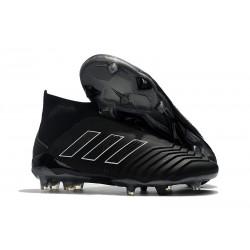 adidas Fotbollsskor för Herrar Predator 18+ FG - Shadow Mode Svart