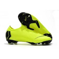 Nike Fotbollsskor för Herrar Mercurial Vapor 12 Elite FG - Volt Svart