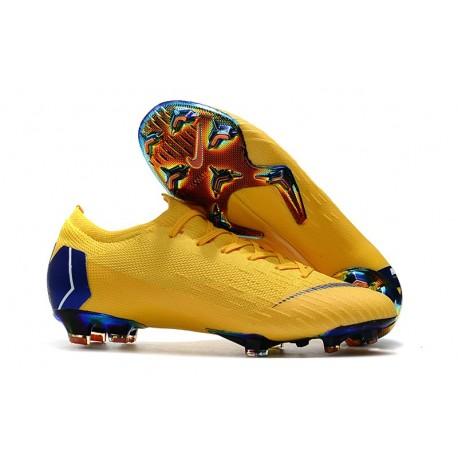 on sale 49644 c9684 Nike Fotbollsskor för Herrar Mercurial Vapor 12 Elite FG - Gul Svart