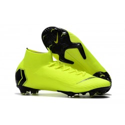 Nike Mercurial Superfly VI 360 Elite DF FG - Wolt Svart