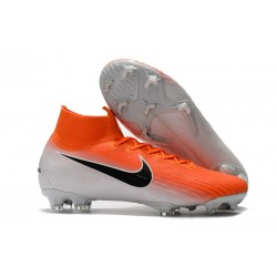 Nike Mercurial Superfly VI 360 Elite DF FG - Orange Vit