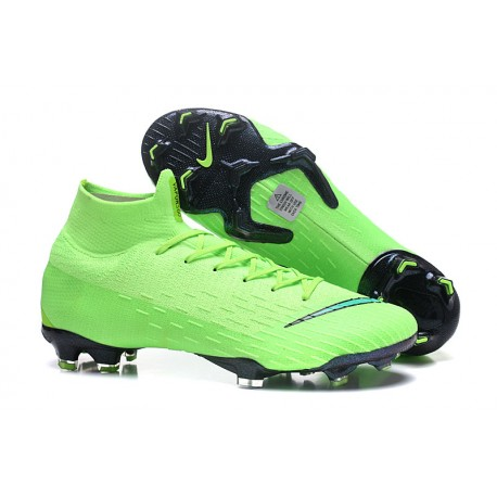 low priced ff9cd b4648 Nike Fotbollsskor Mercurial Superfly VI Elite FG - Grön Svart