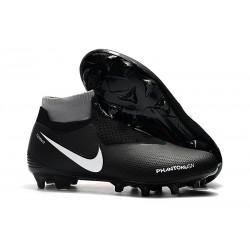 Nike Phantom VSN Elite DF FG Fotbollsskor för Herrar - Svart Orange Vit