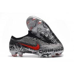 Nike Fotbollsskor för Neymar Mercurial Vapor 12 Elite FG - Svart Vit Röd