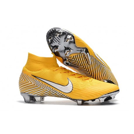 low priced bcdc8 71c26 Nike Fotbollsskor Mercurial Superfly VI Elite FG - Neymar Gul