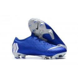Nike Fotbollsskor för Herrar Mercurial Vapor 12 Elite FG - Blå Silver